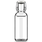 Fill ME Trinkflasche Scuba, 0.6 L Borosilikat