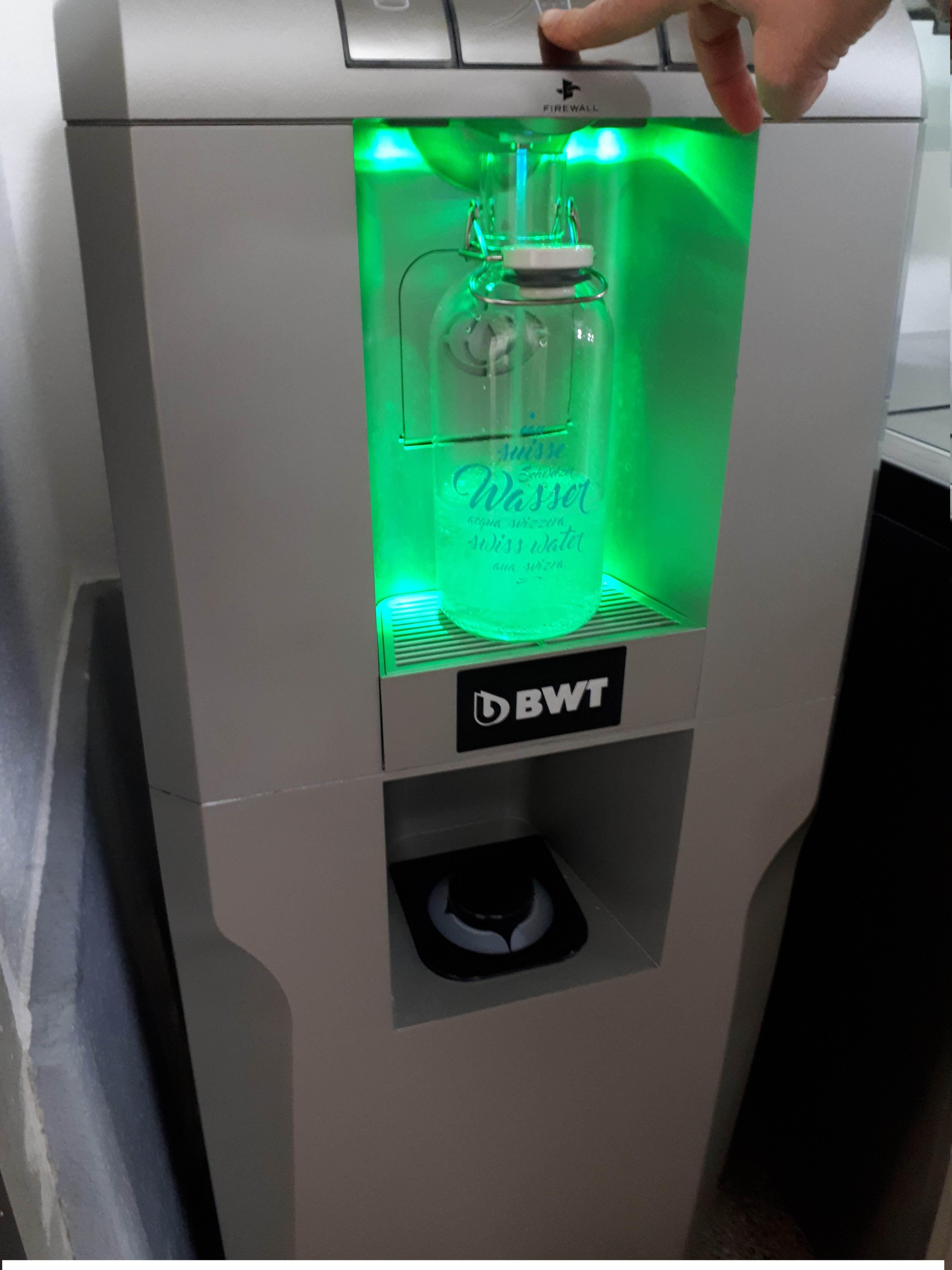 Perfekt für Wasserspender